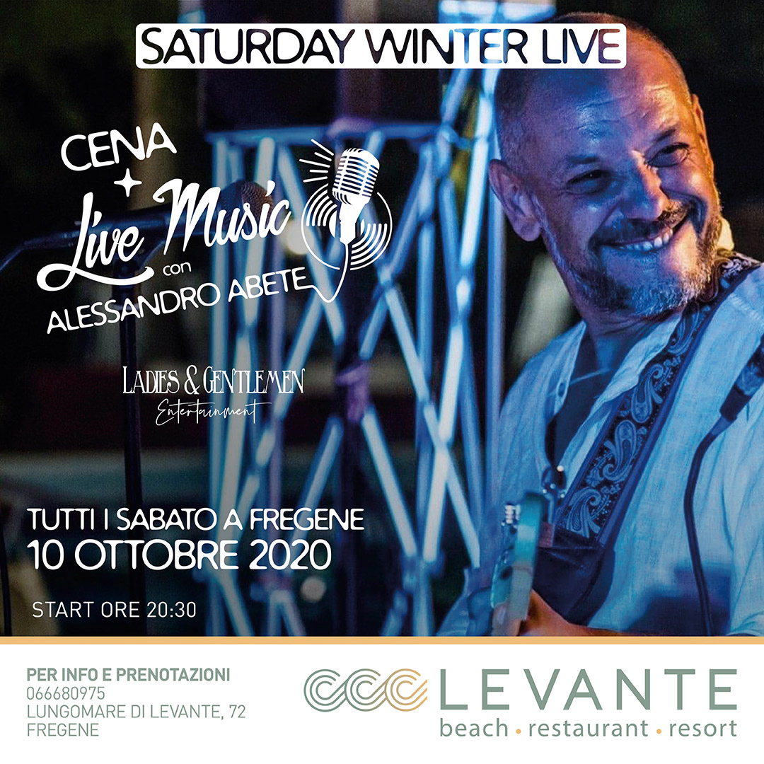 cena+live music con Alessandro Abete