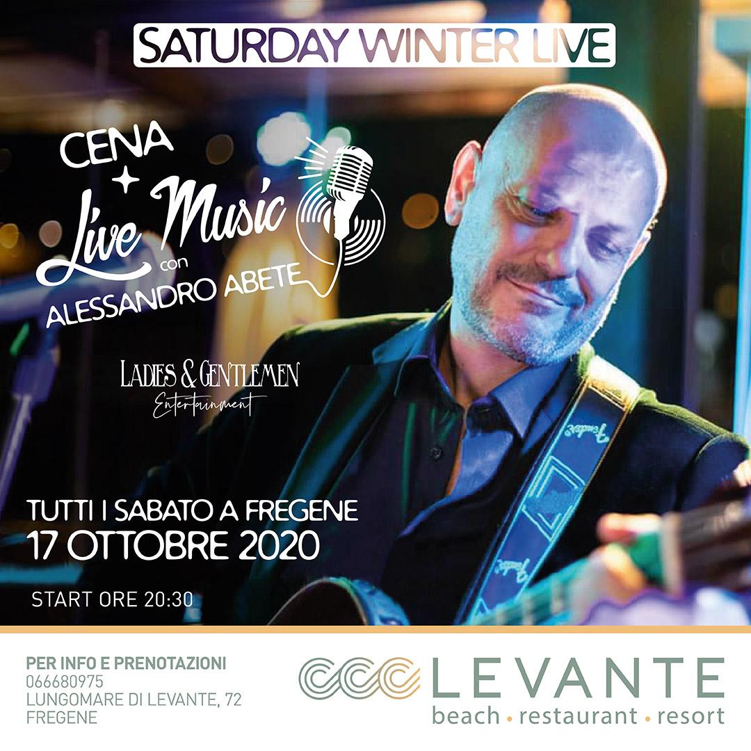 evento cena + live music